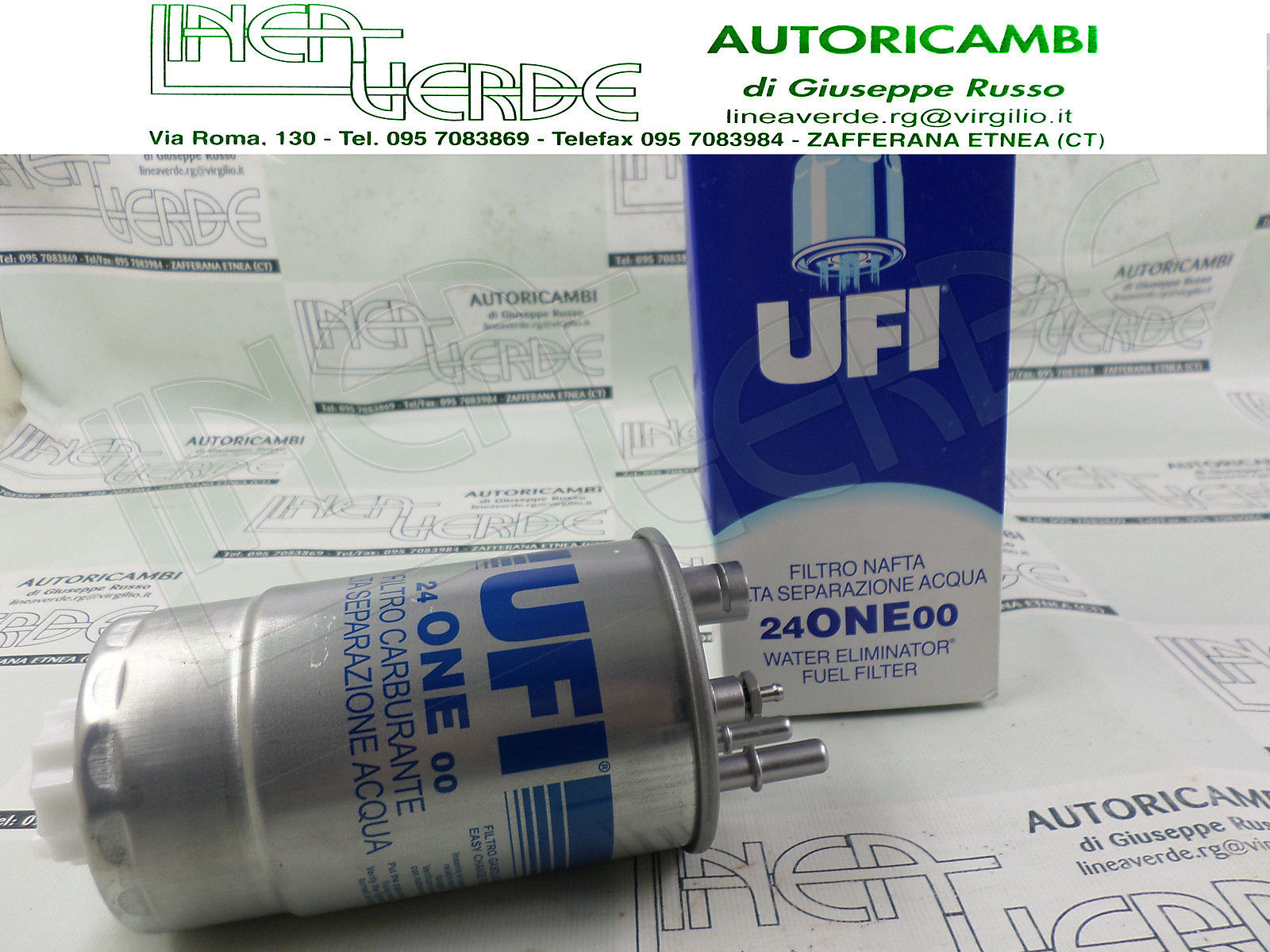 ORIGINALE UFI FILTRO COMBUSTIBILE FILTRO CARBURANTE FIAT LANCIA AUTOBIANCHI