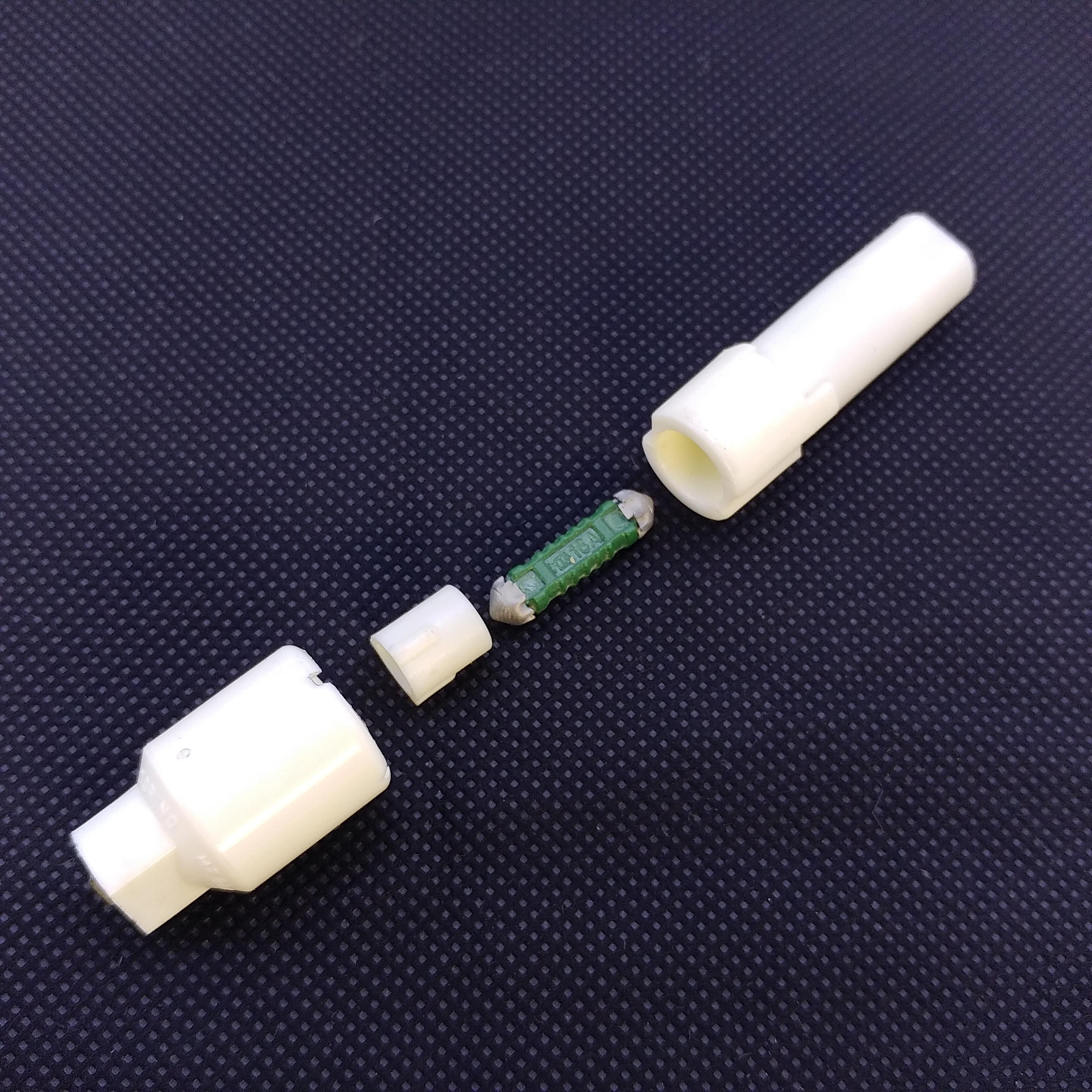sicherungshalter universal kugel nase 12v 16 ampere mit. Black Bedroom Furniture Sets. Home Design Ideas