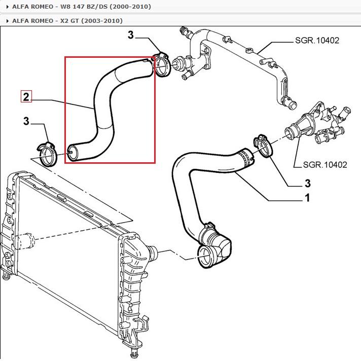 Airbag pretensores colmar premium con conector para Alfa Romeo