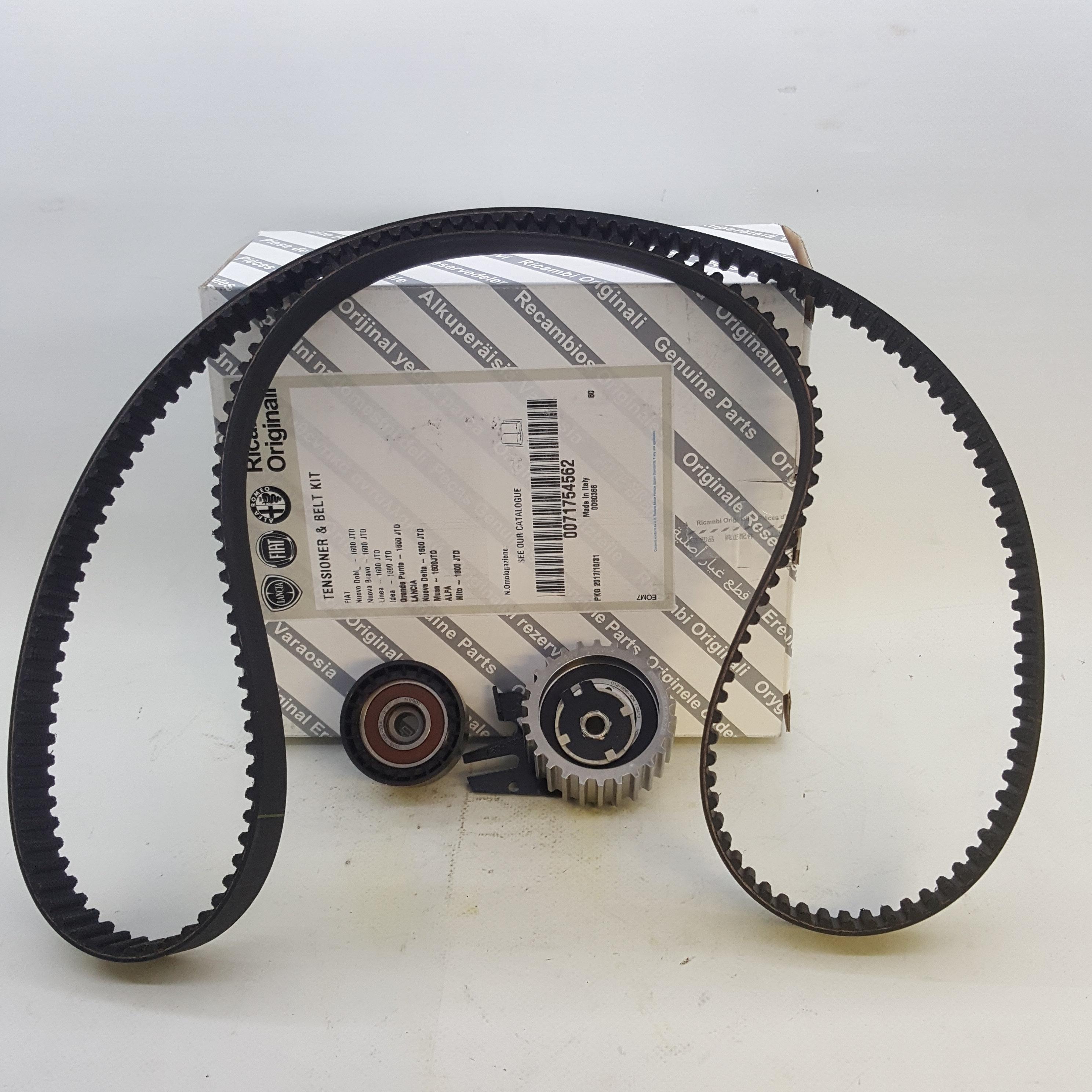 Timing Belt Kit Alfa Romeo Mito Fiat 500x Lancia Musa Original 500 X 71754562