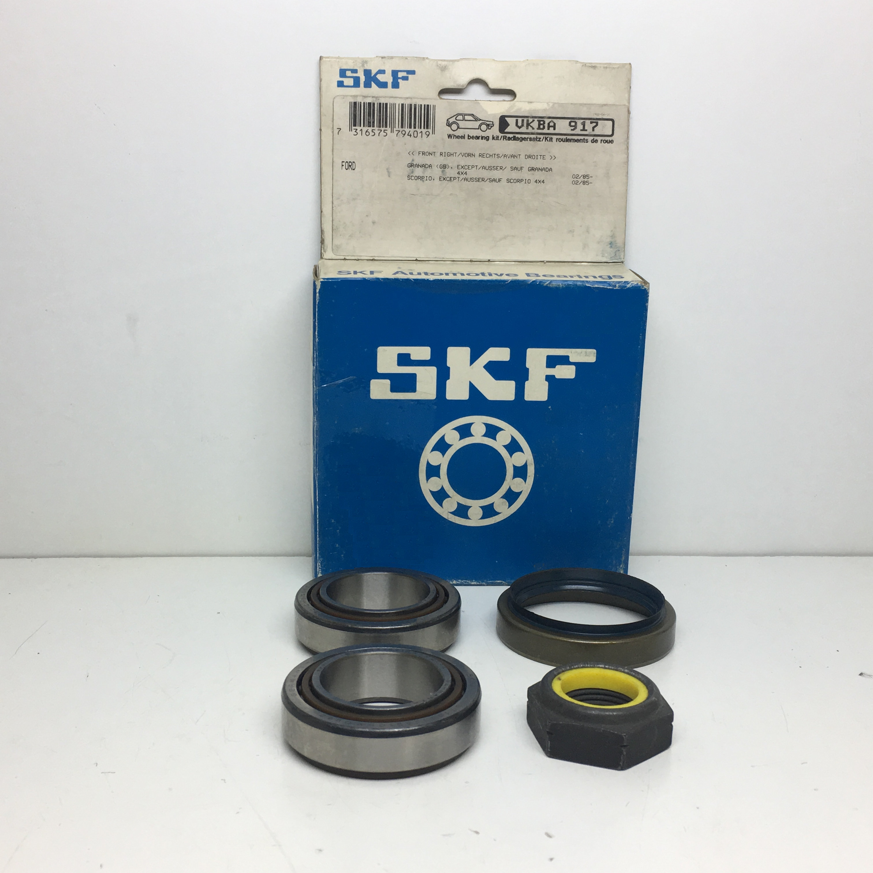 Original SKF RADLAGERSATZ avant Renault