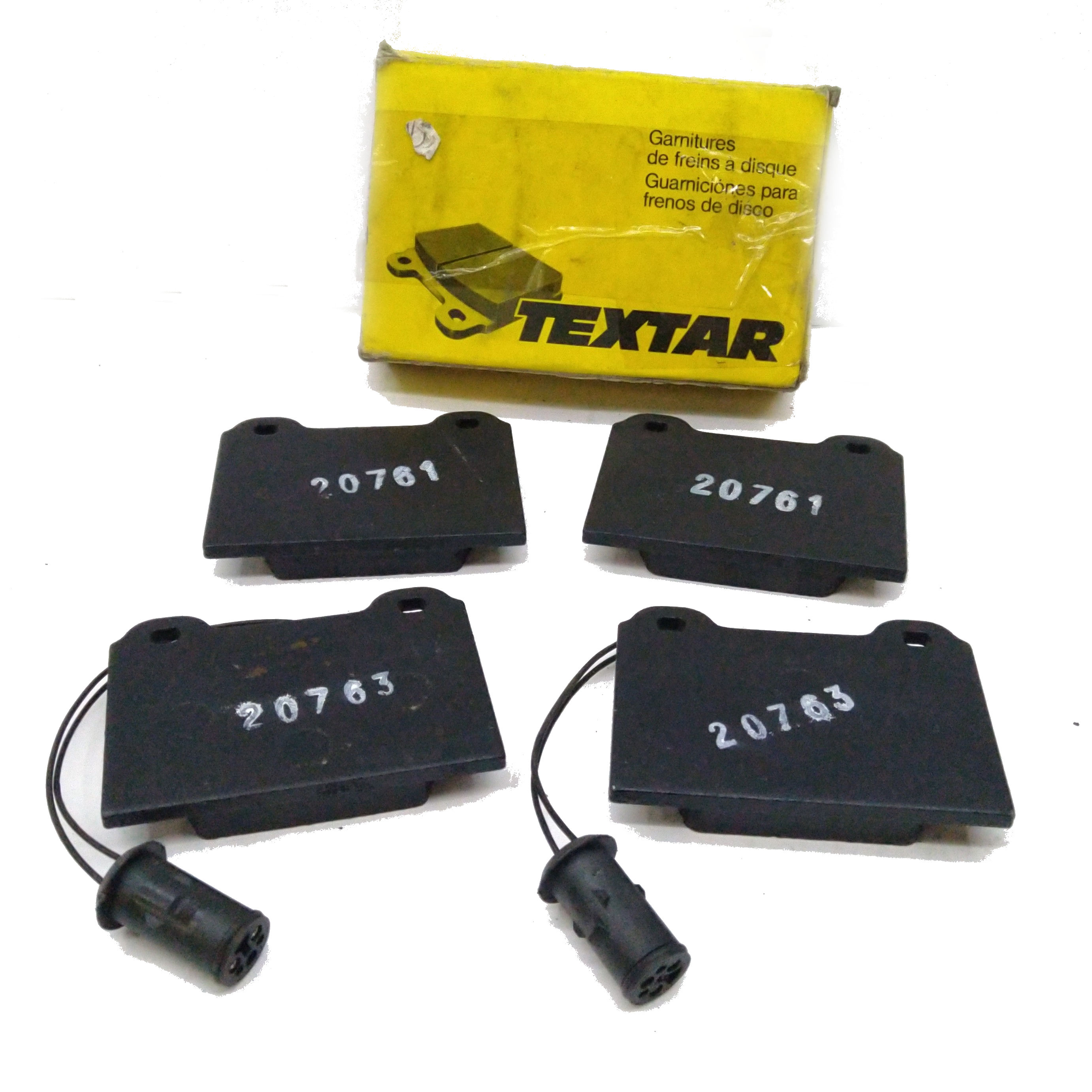FRONT BRAKE PADS KIT AUSTIN METRO TEXTAR FOR GBP259
