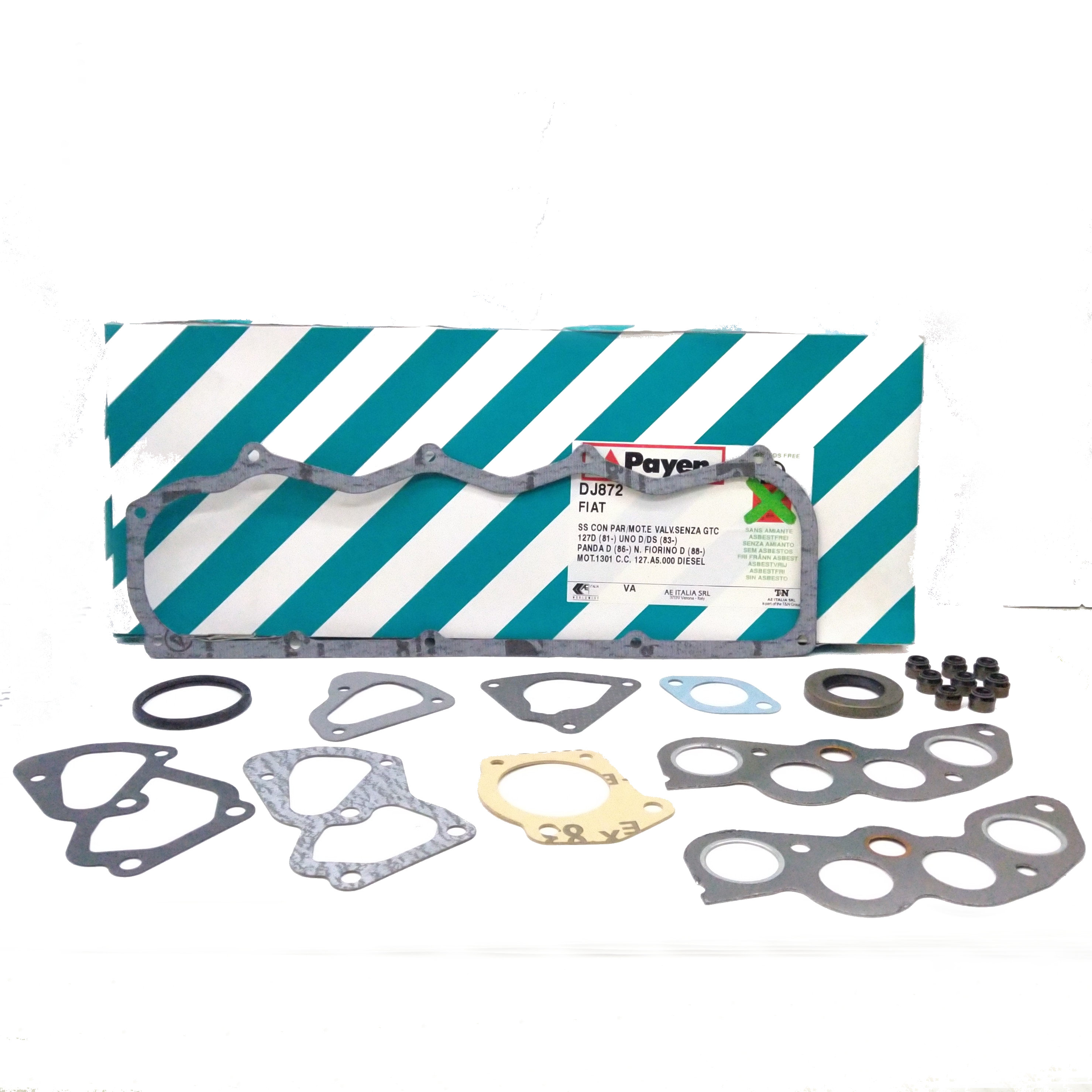 HEAD GASKET KIT FIAT 127 - FIORINO - PANDA PAYEN FOR 5881360