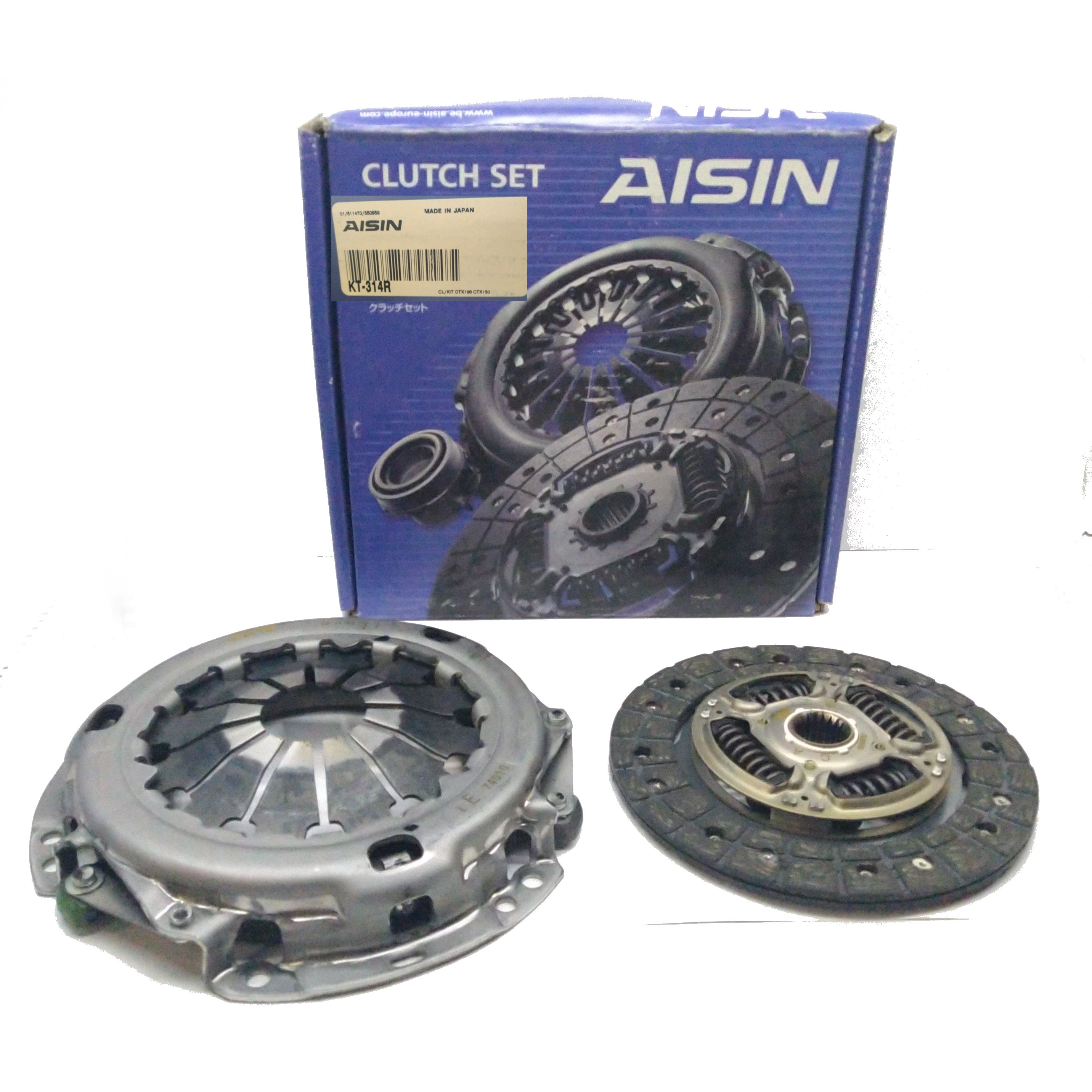 TOYOTA IQ 1.0 AISIN CLUTCH KIT FOR 3121074010