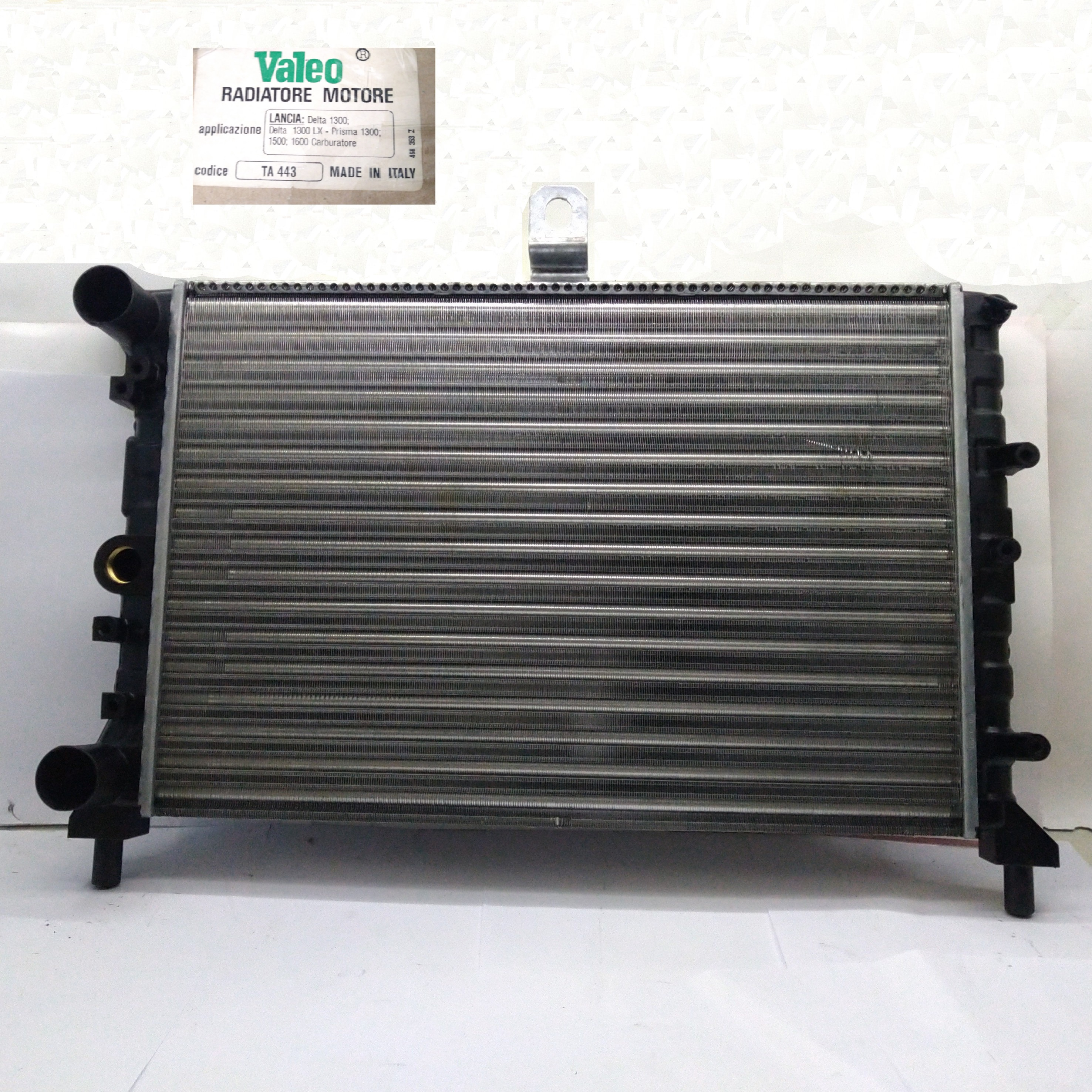 ENGINE COOLING RADIATOR LANCIA DELTA - PRISMA VALEO FOR 82416665