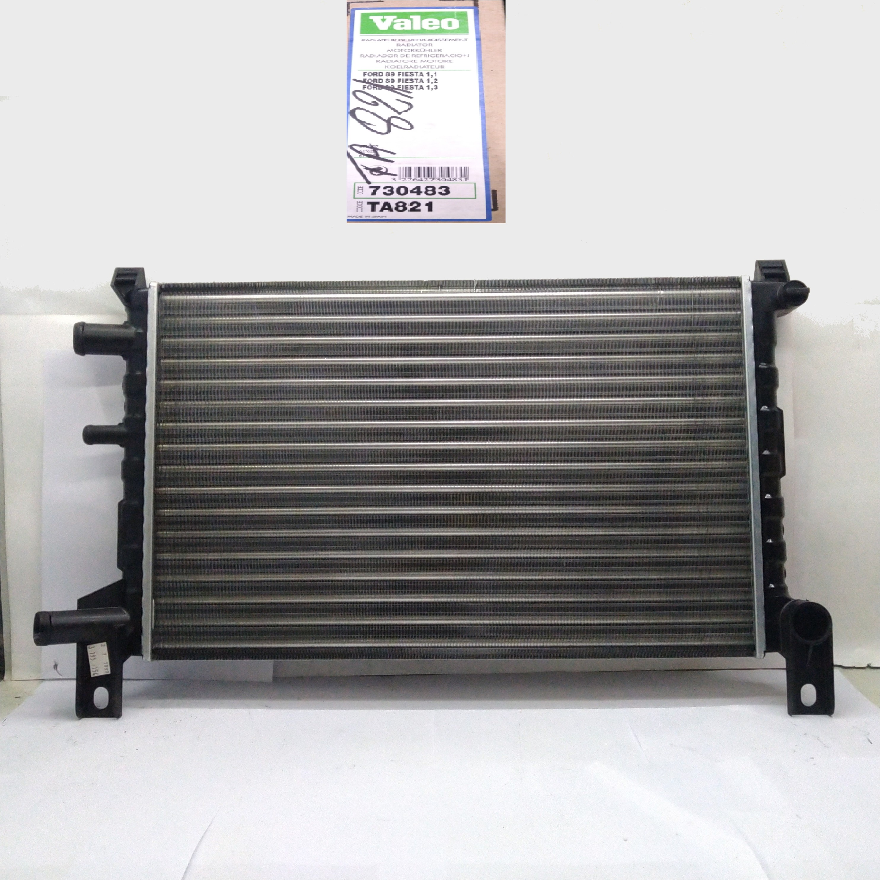 FORD FIESTA VALEO ENGINE COOLING RADIATOR FOR 1004038