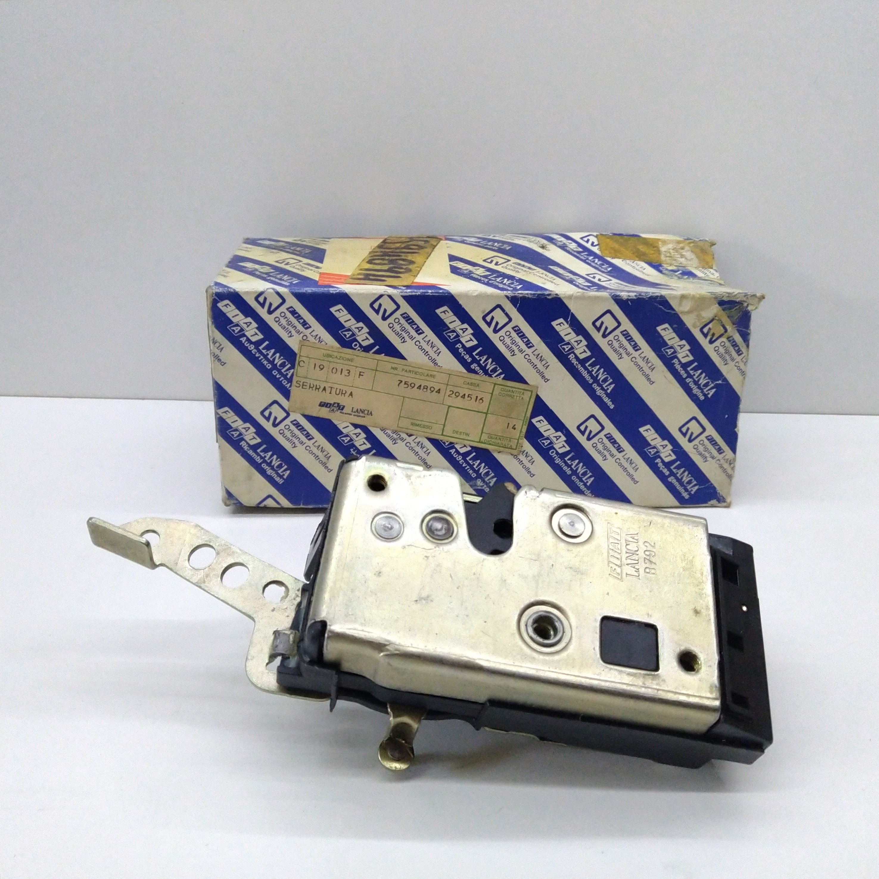 LEFT SIDE DOOR LOCK FIAT TEMPRA - ORIGINAL TYPE 7594894