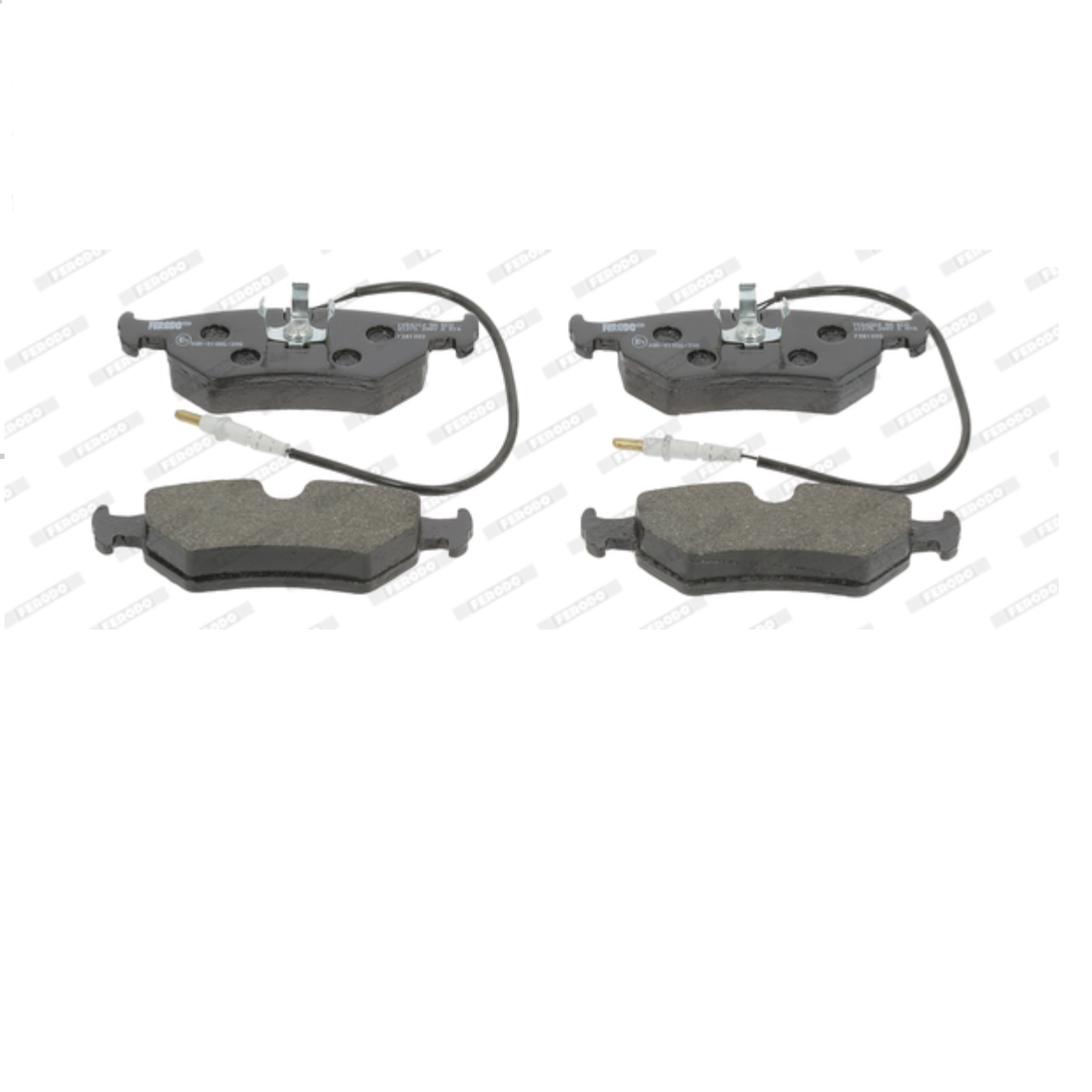 FRONT BRAKE PADS SERIES KIT FIAT SCUDO - LANCIA ZETA FERODO FOR 9404251248