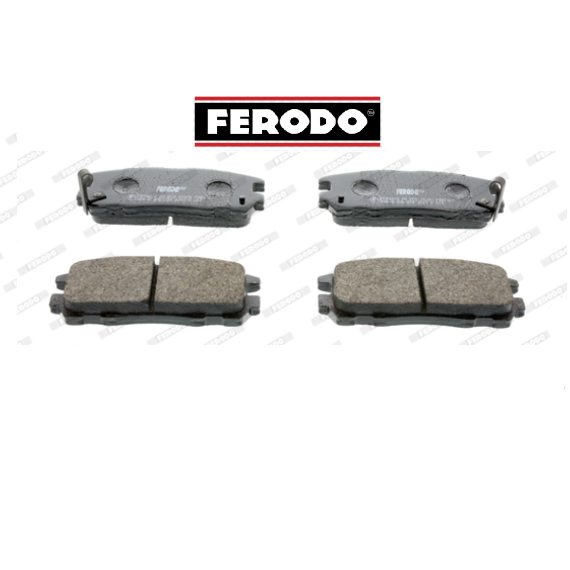 REAR BRAKE PADS SERIES KIT FOR OPEL FRONTERA FERODO FDB1017 FOR 1605851
