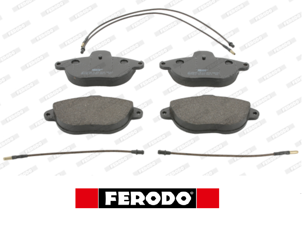 KIT FRONT BRAKE PADS SET CITROEN XANTIA FERODO FDB1069