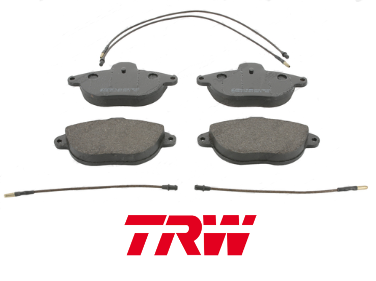 KIT FRONT BRAKE PADS SET CITROEN XANTIA TRW GDB1301