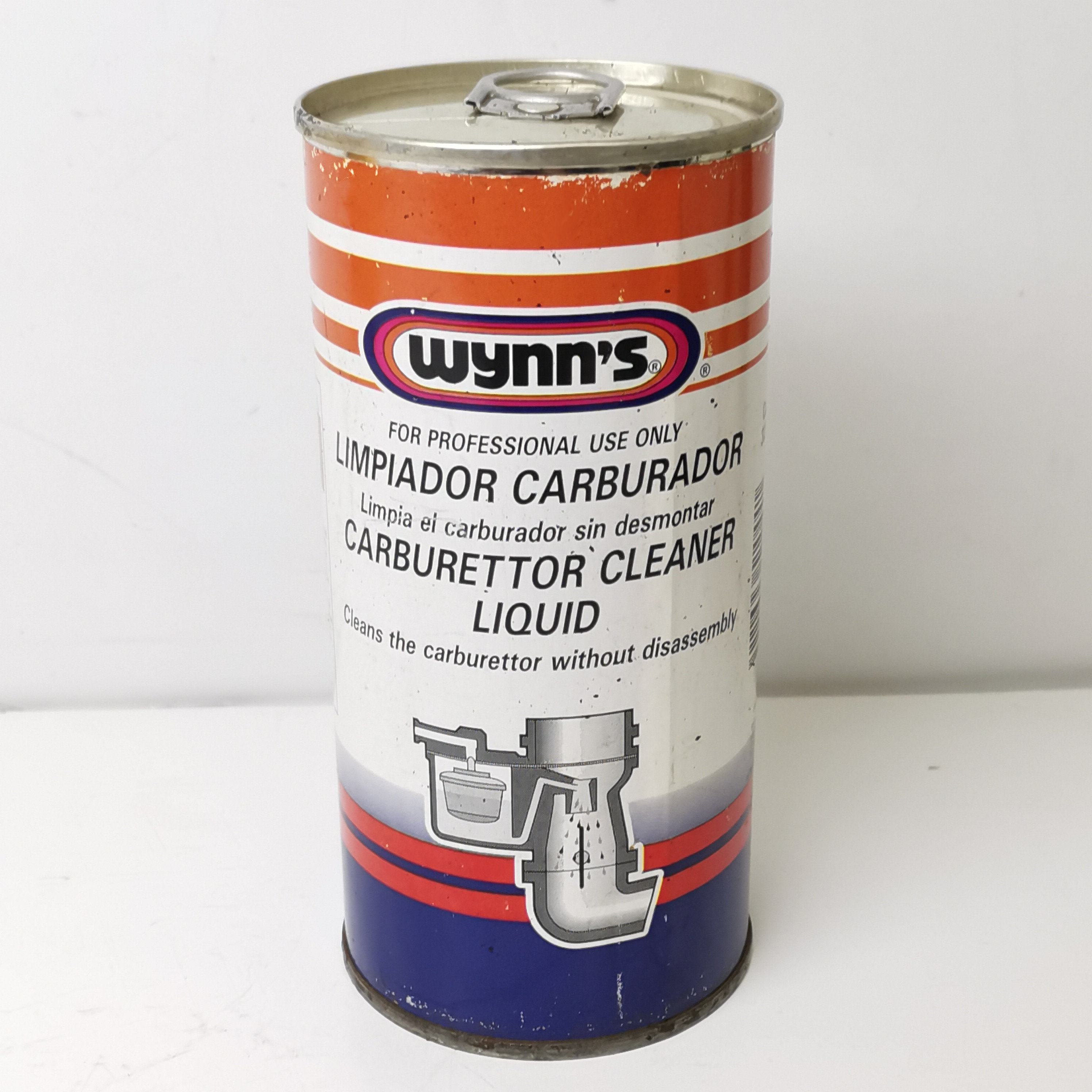 CARBURETOR CLEANING FLUID WITHOUT DISASSEMBLY WYNN'S 325 ML PN51044