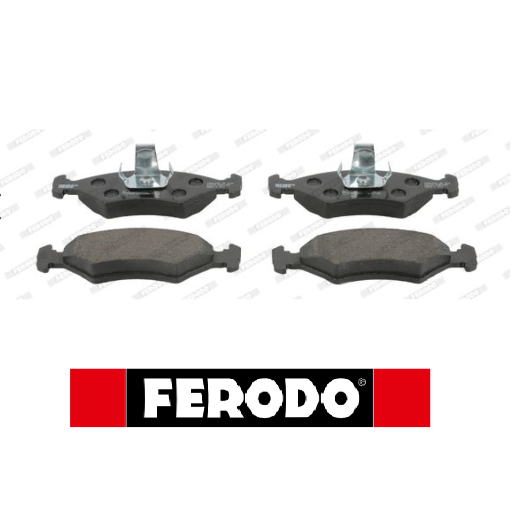 FRONT BRAKE PAD SET KIT FORD FIESTA IV- PUMA FDB1081