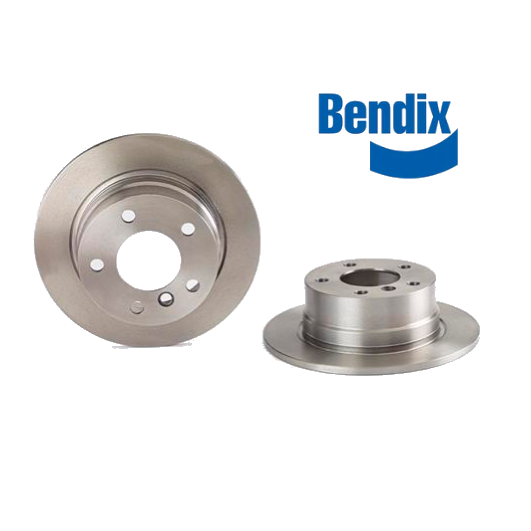 PAIR OF REAR BRAKE DISCS BMW 3 BENDIX FOR 34211160809