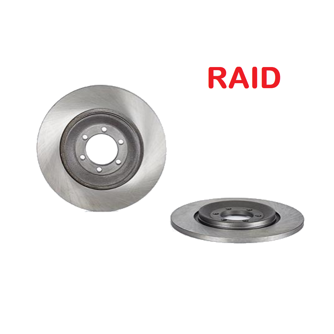 PAIR OF REAR BRAKE DISCS ALFA ROMEO ALFETTA RAID FOR 60703170