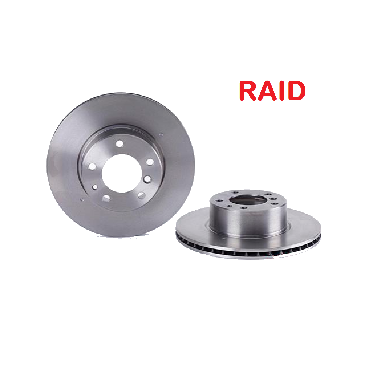 PAIR OF FRONT BRAKE DISCS BMW 5 - 7 RAID FOR 34111158040