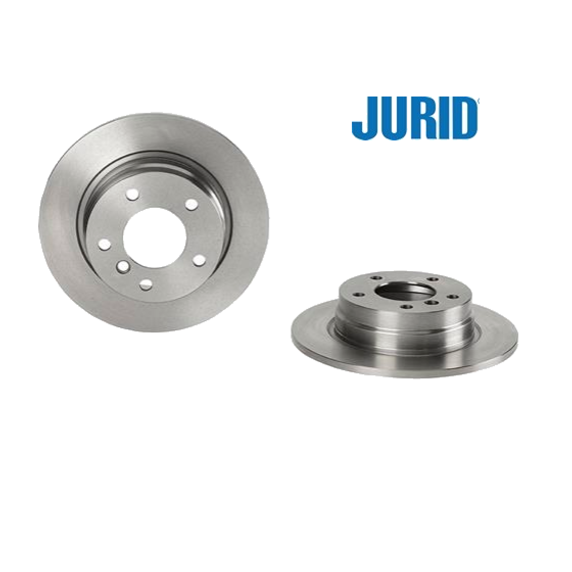 PAIR OF REAR BRAKE DISCS BMW 3 JURID FOR 34211158936