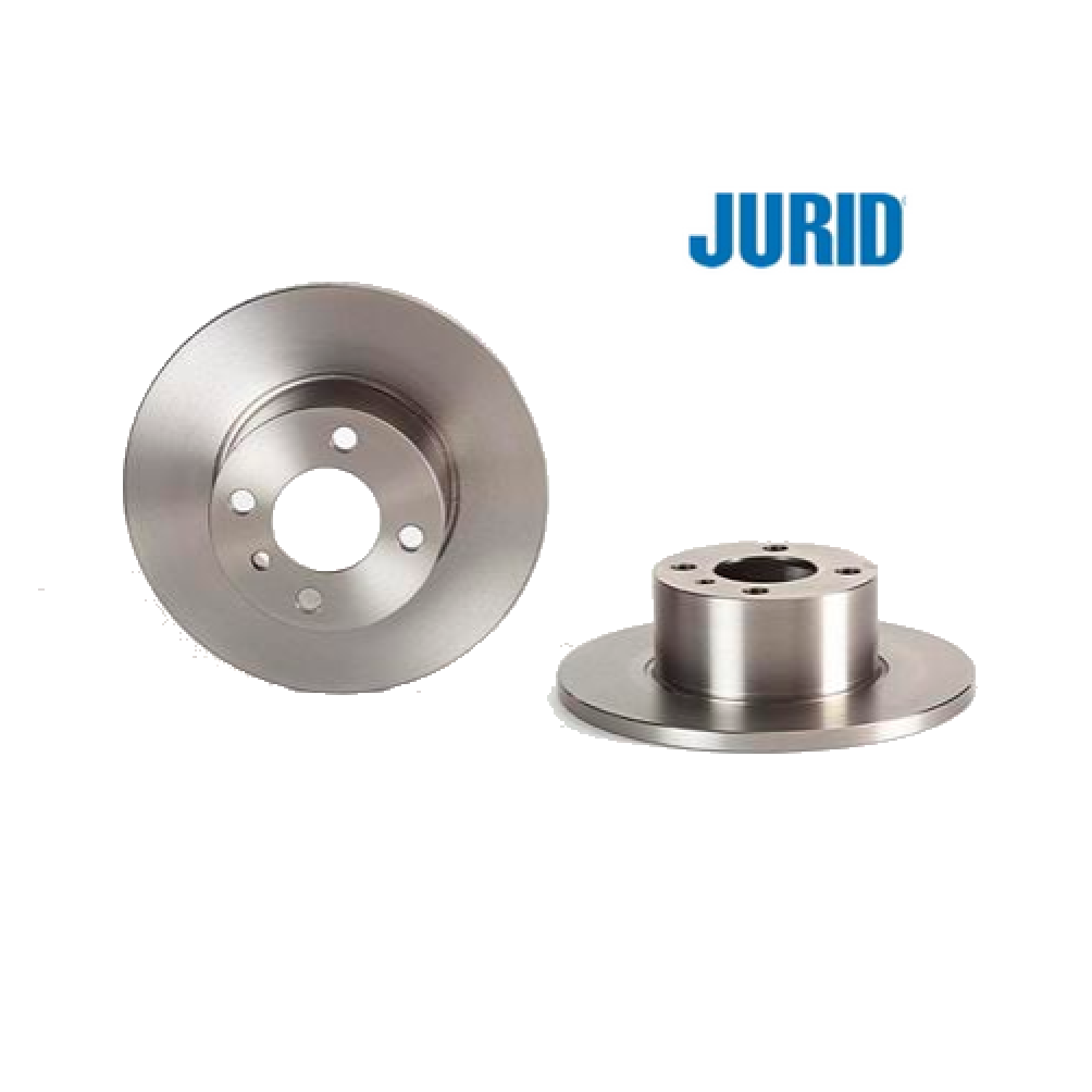 PAIR OF FRONT BRAKE DISCS BMW 3 JURID FOR 34111116675
