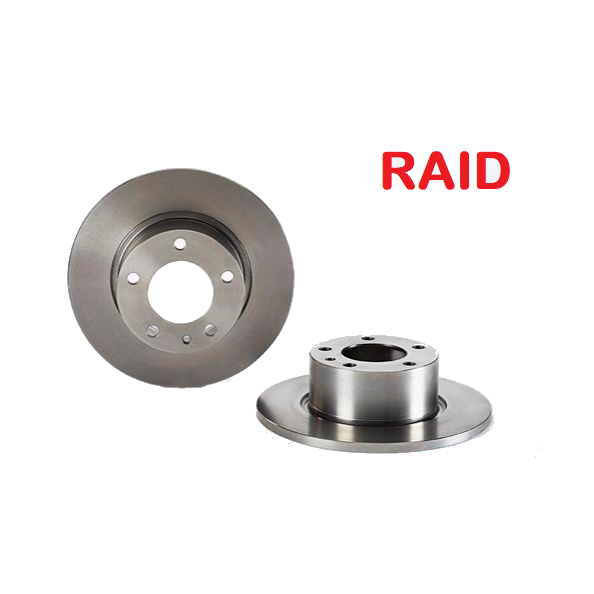 PAIR OF FRONT BRAKE DISCS BMW 5 RAID FOR 34111151632
