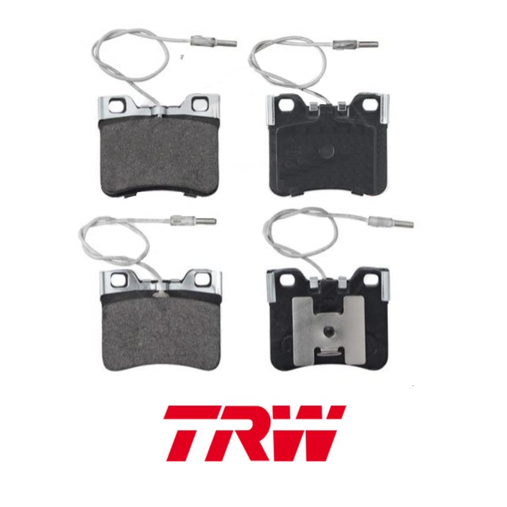 FRONT BRAKE PADS KIT CITROEN AX TRW GDB906