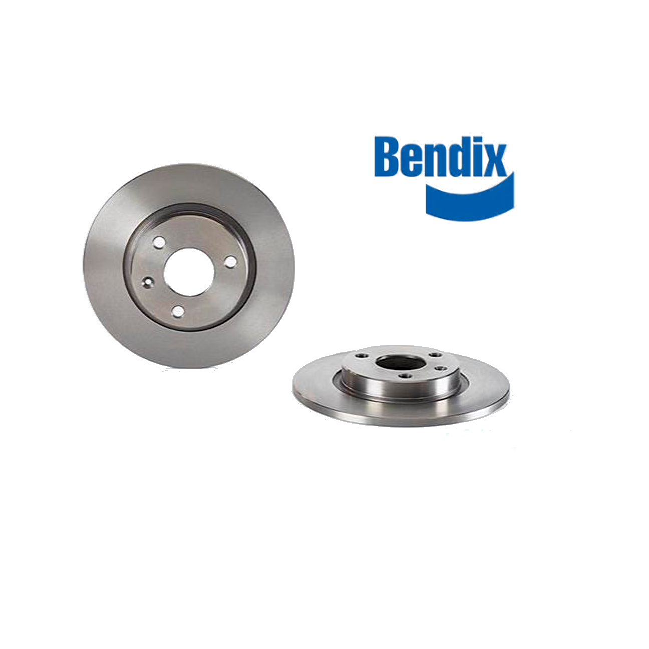 PAIR FRONT BRAKE DISCS CITROEN AX - SAXO BENDIX FOR 95661811