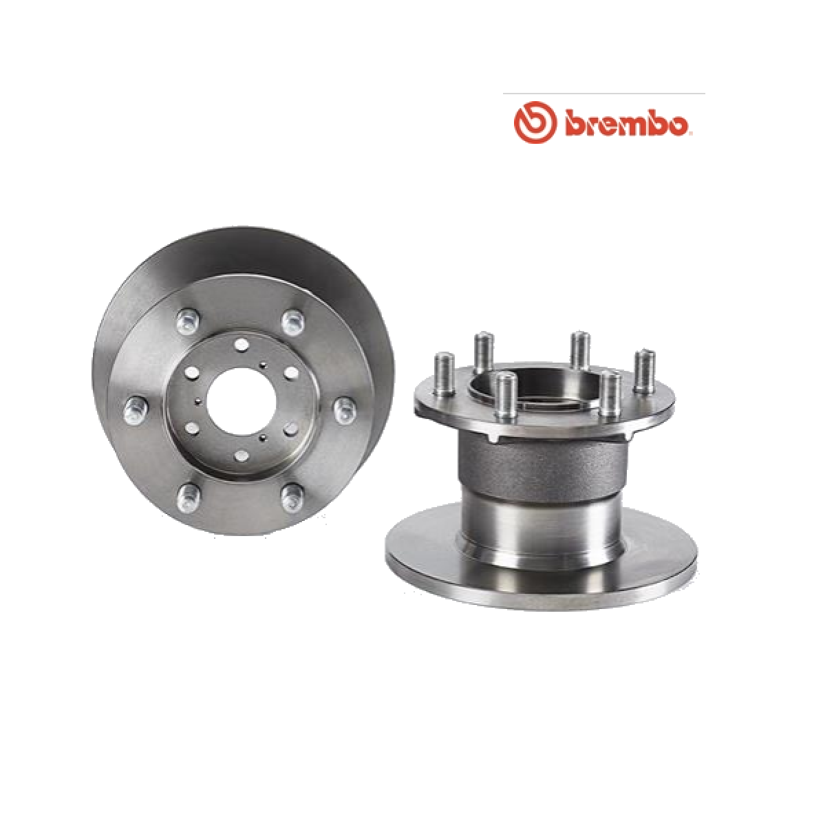 PAIR OF FRONT BRAKE DISCS IVECO DAILY II BREMBO FOR 1904528