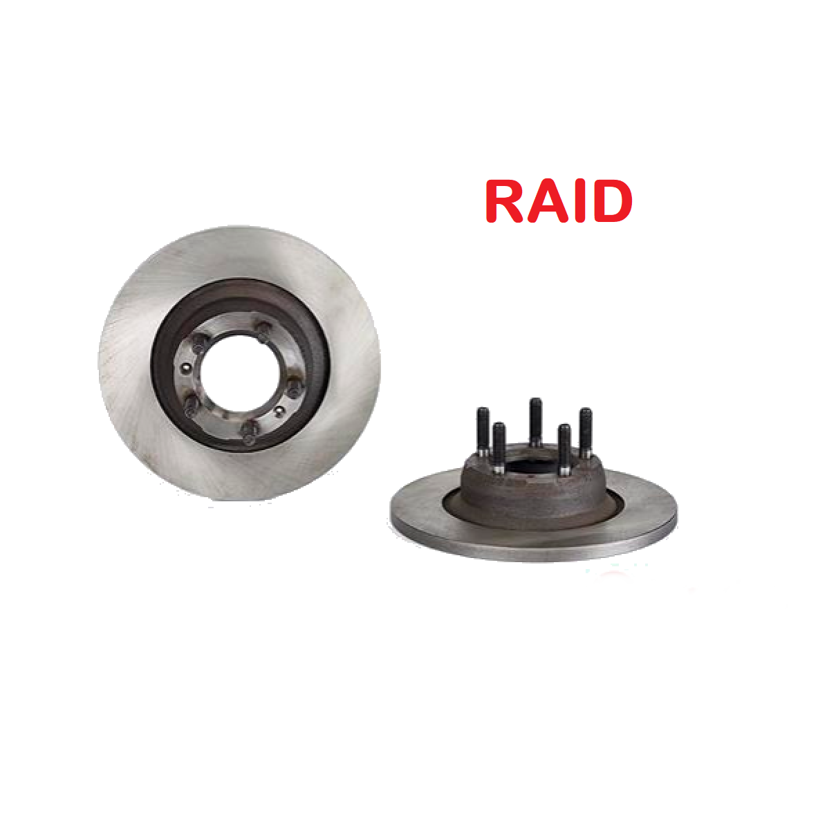 PAIR FRONT BRAKE DISCS ALFA ROMEO 75 - 90 2.4TD RAID FOR 60533595