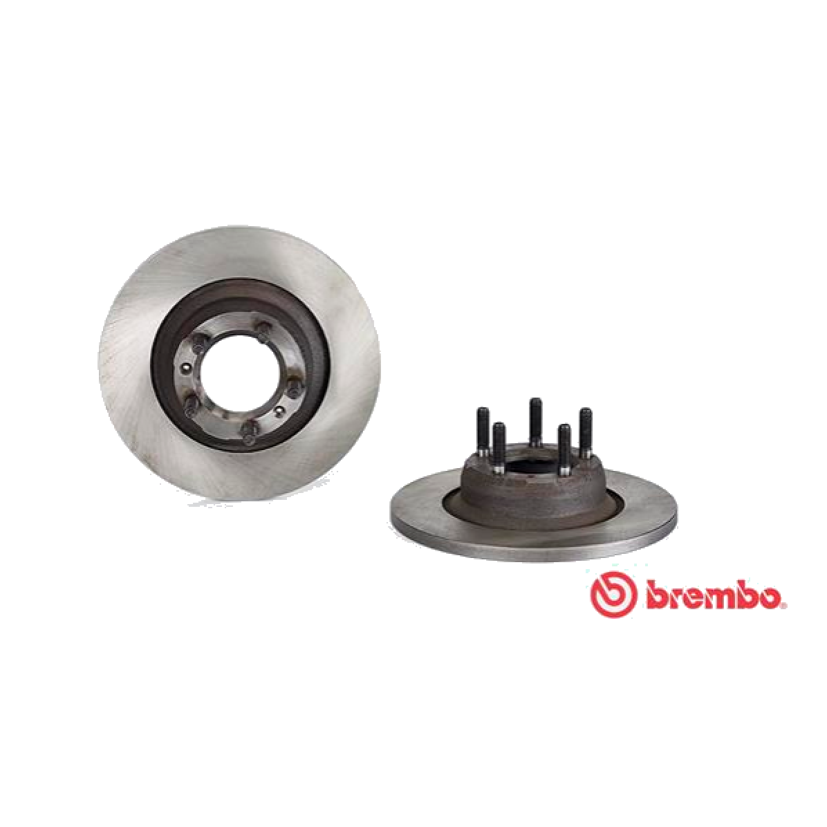 PAIR FRONT BRAKE DISCS ALFA ROMEO 75 - 90 2.4TD BREMBO FOR 60533595