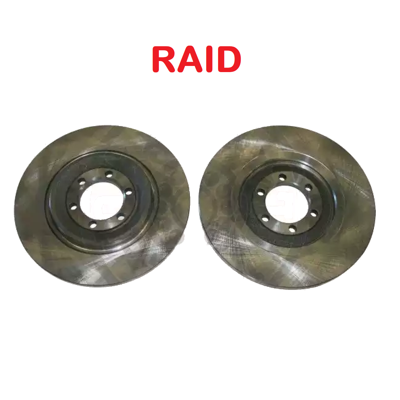 PAIR OF REAR BRAKE DISCS ALFA ROMEO 75 - 90 - GTV RAID FOR 60533971