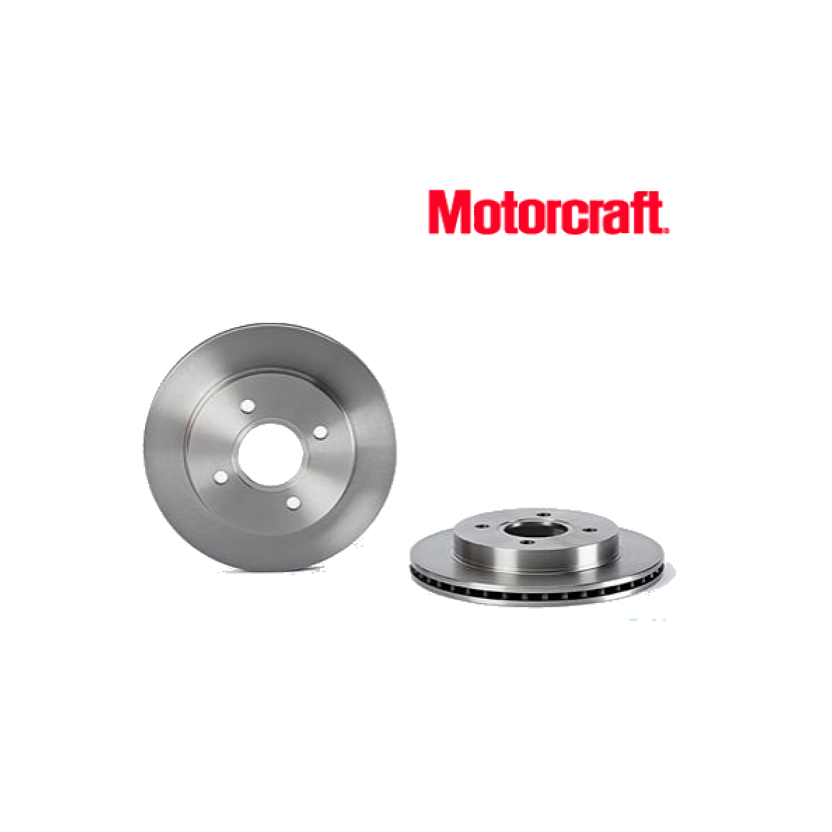 PAIR OF REAR BRAKE DISCS FORD COUGAR - MONDEO MOTORCRAFT FOR 1025911