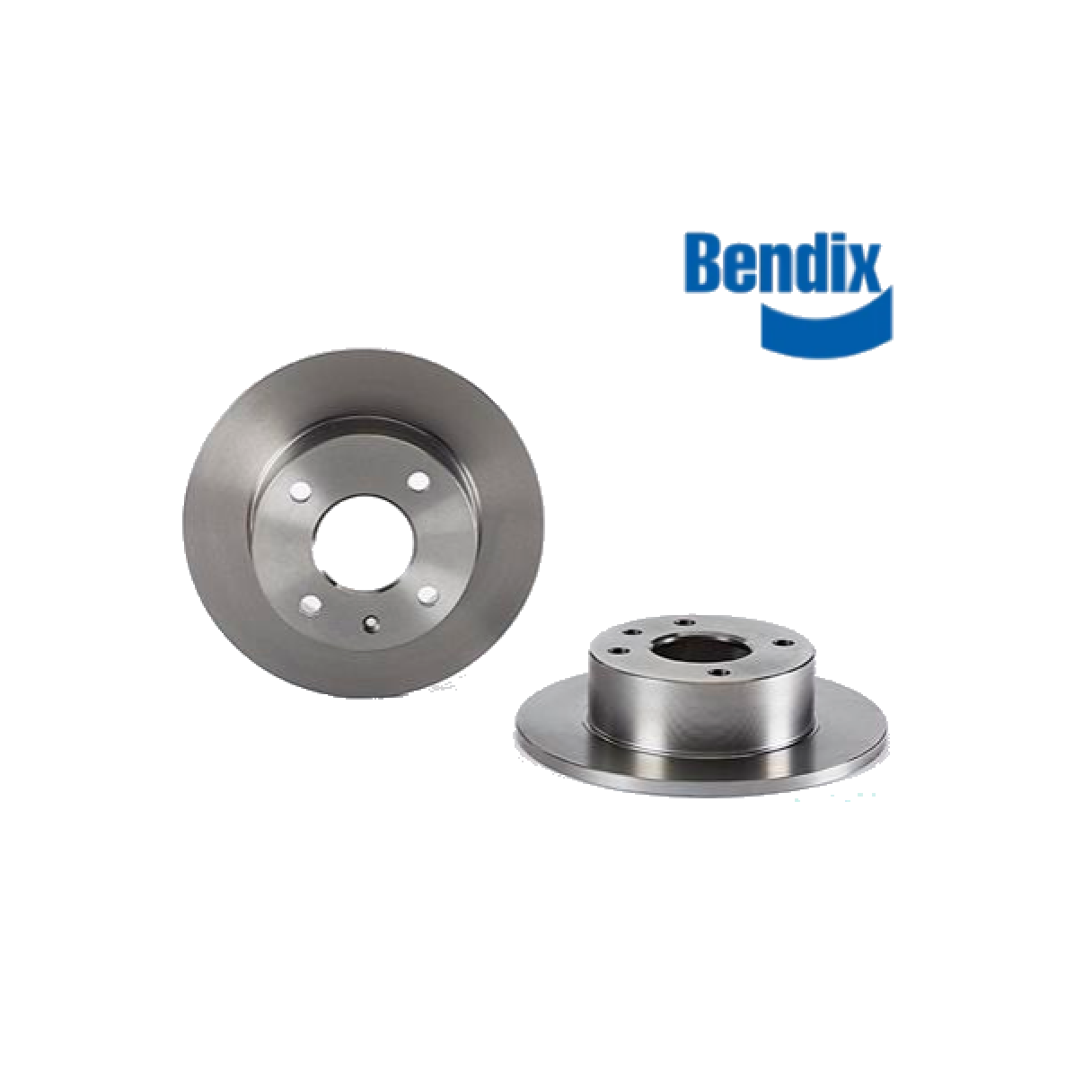 PAIR OF FRONT BRAKE DISCS FORD ESCORT - ORION BENDIX FOR 1629475