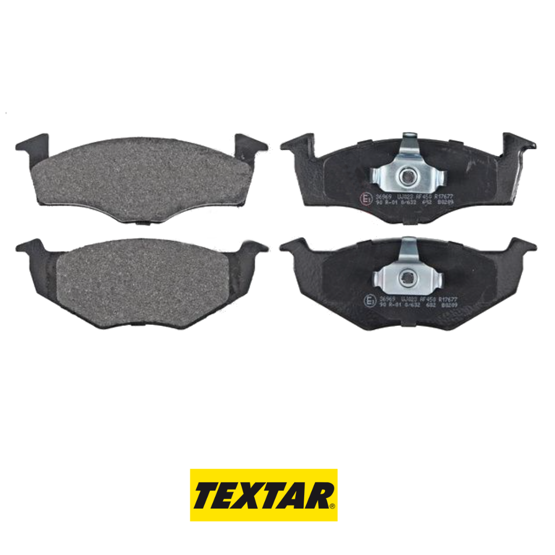 FRONT BRAKE PADS SERIES KIT SEAT - SKODA - VW TEXTAR 2186602
