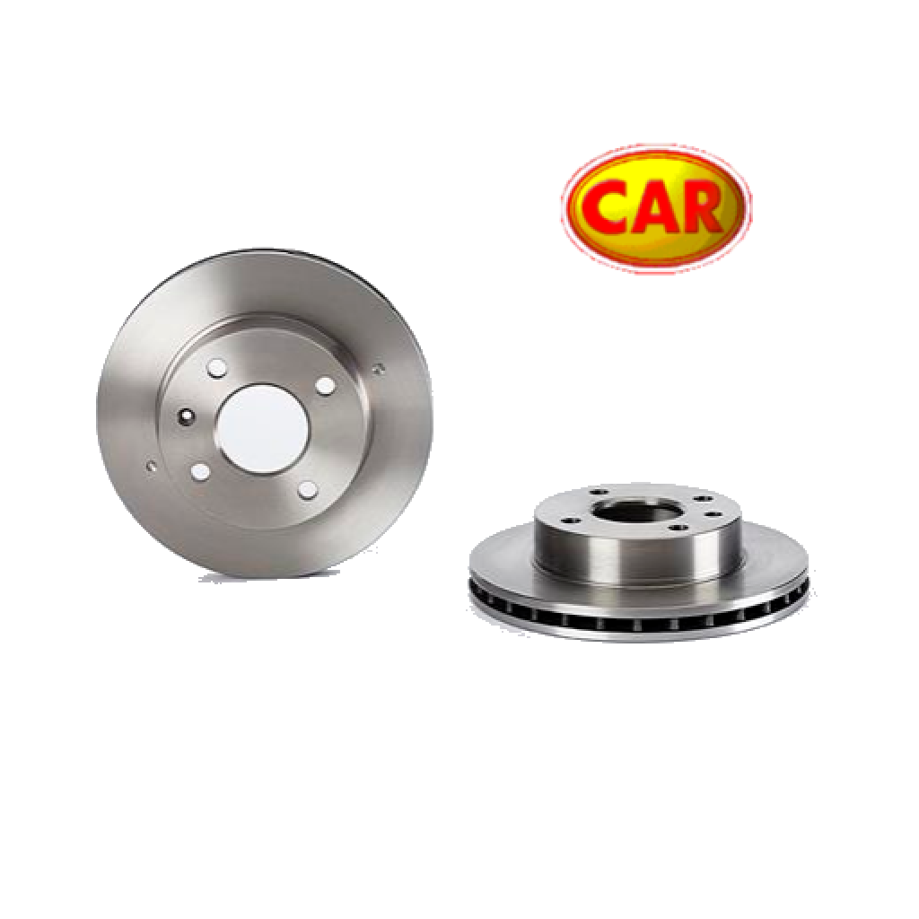 PAIR FRONT BRAKE DISCS FORD ESCORT - ORION - SIERRA CAR FOR 1096104