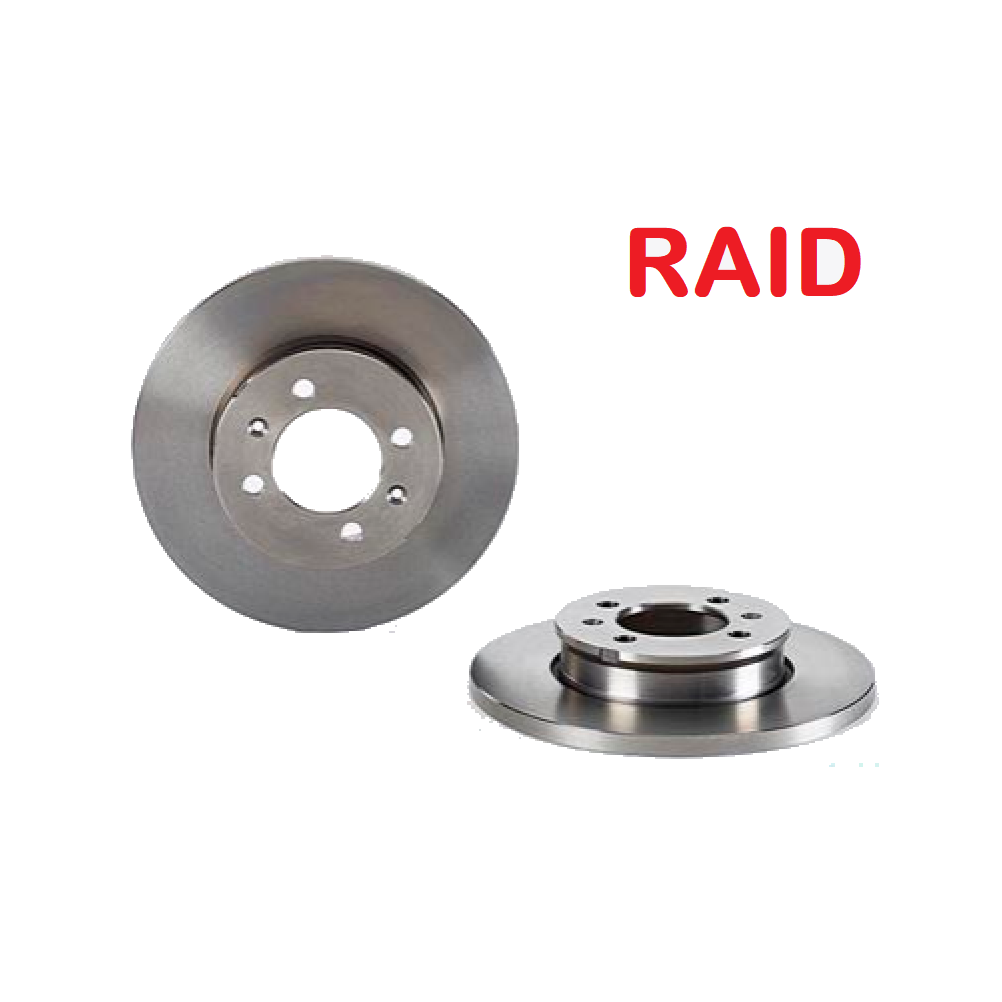 PAIR OF FRONT BRAKE DISCS AUSTIN MAESTRO - ROVER MONTEGO RAID FOR FAM8405
