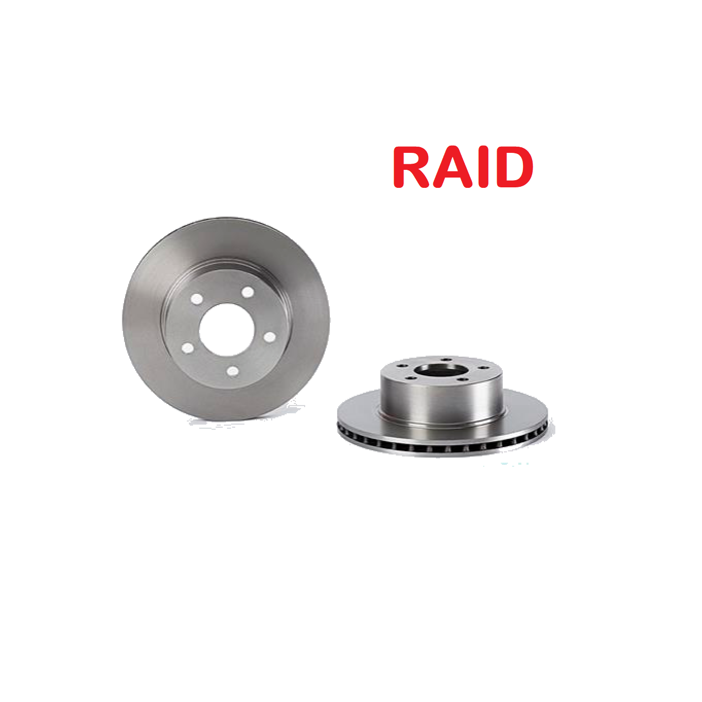 PAIR OF FRONT BRAKE DISCS JEEP CHEROKEE - WRANGLER RAID FOR J3251156