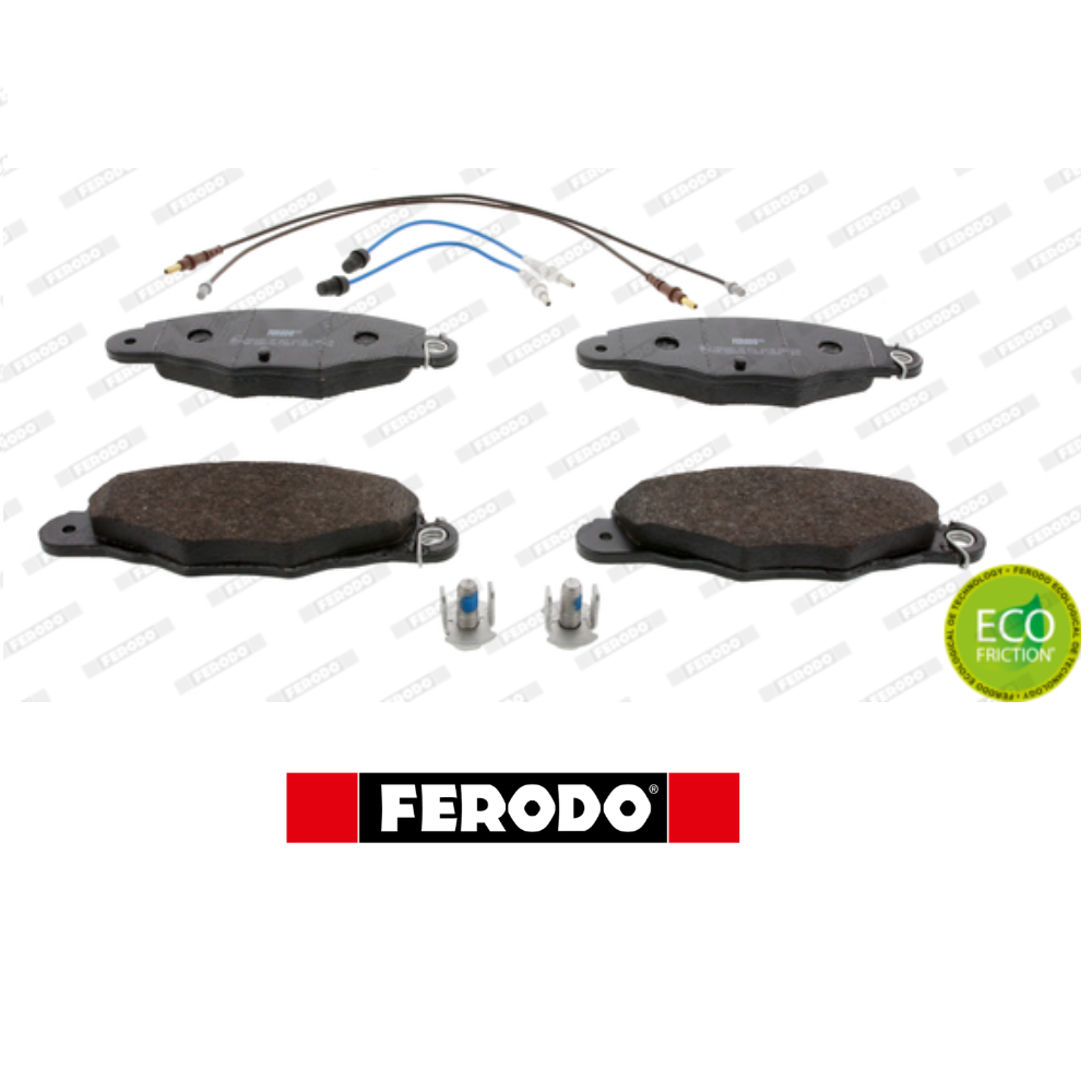 KIT FRONT BRAKE PADS SET CITROEN XANTIA FERODO FDB1114