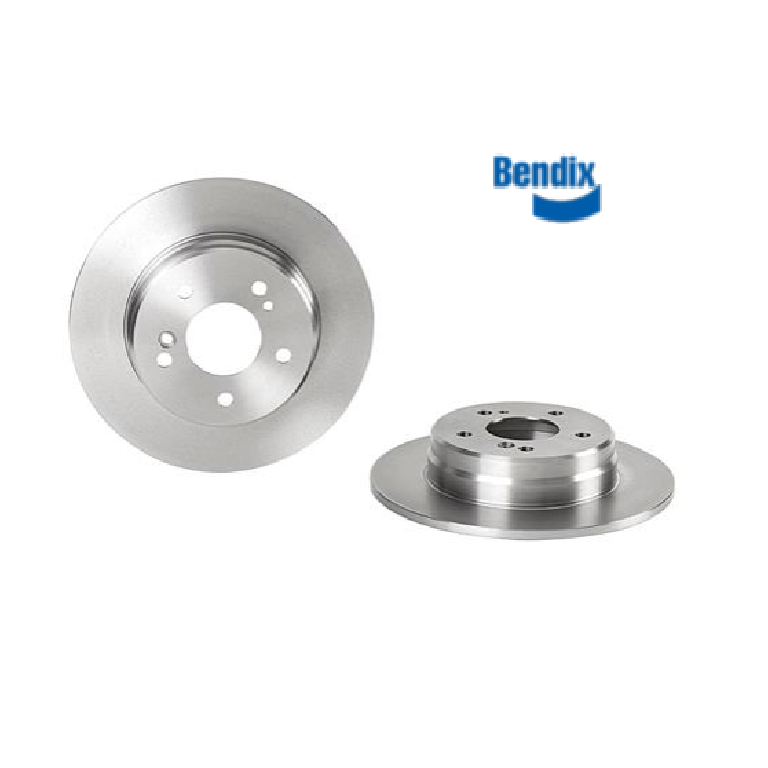 PAIR REAR BRAKE DISCS MERCEDES C CLASS W202 BENDIX FOR A2034230012