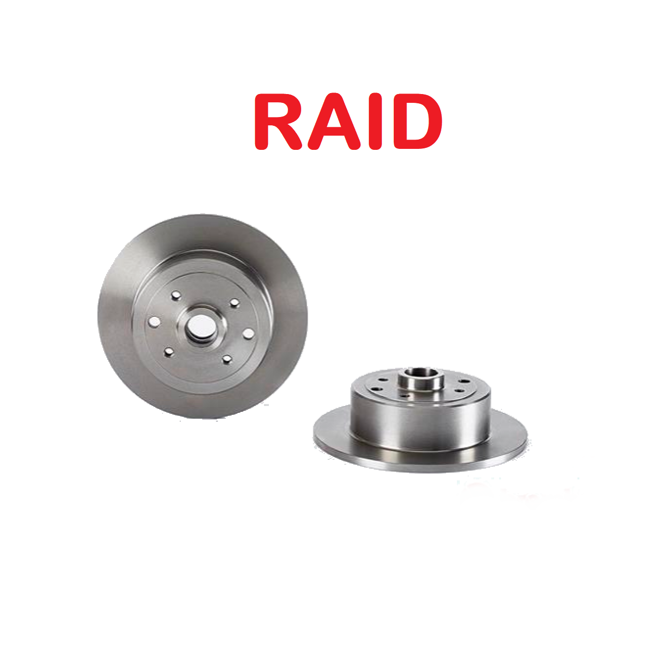 PAIR OF REAR BRAKE DISCS OPEL CALIBRA - KADETT - VECTRA RAID FOR 90348319