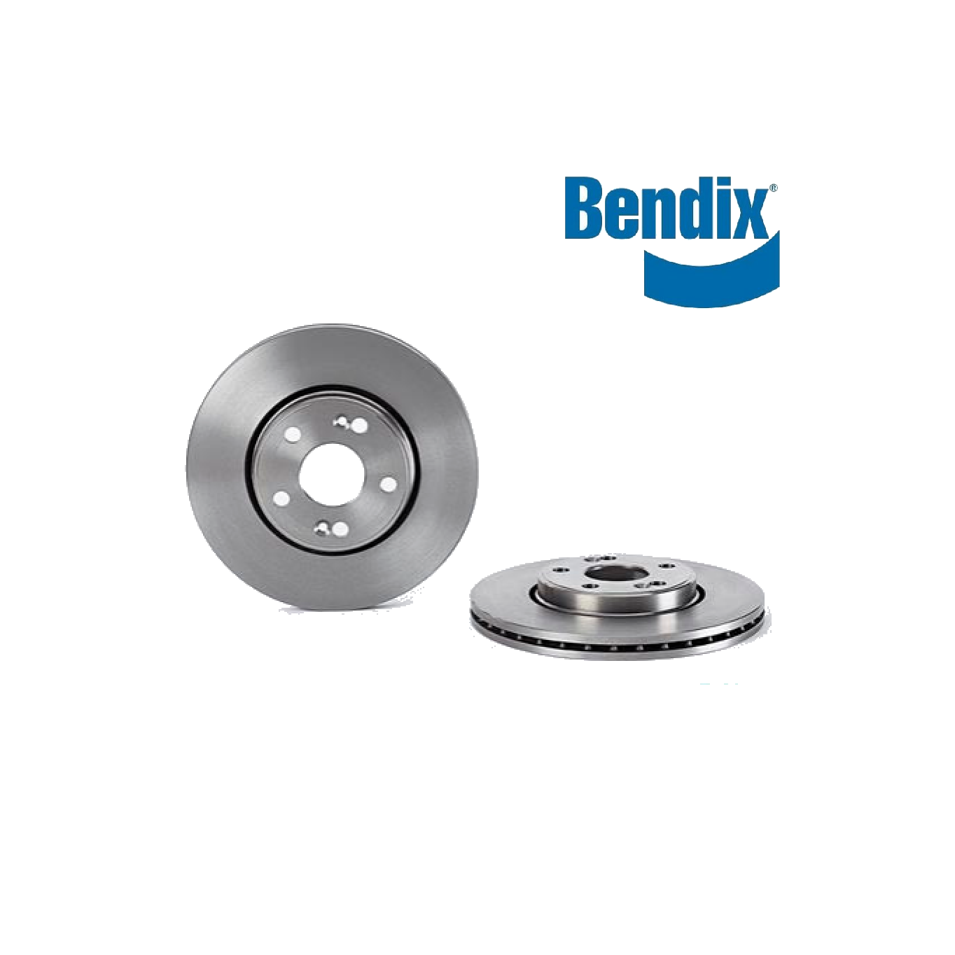 PAIR FRONT BRAKE DISCS RENAULT ESPACE - LAGUNA BENDIX FOR 7700802231