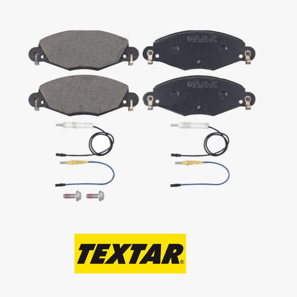 KIT FRONT BRAKE PADS SET CITROEN C5 TEXTAR 2327301