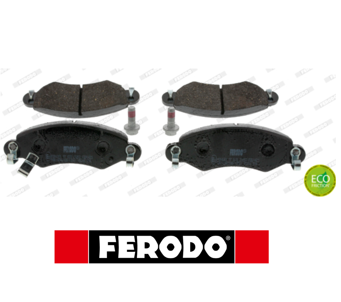 FRONT BRAKE PADS SERIES KIT OPEL FERODO FDB1423