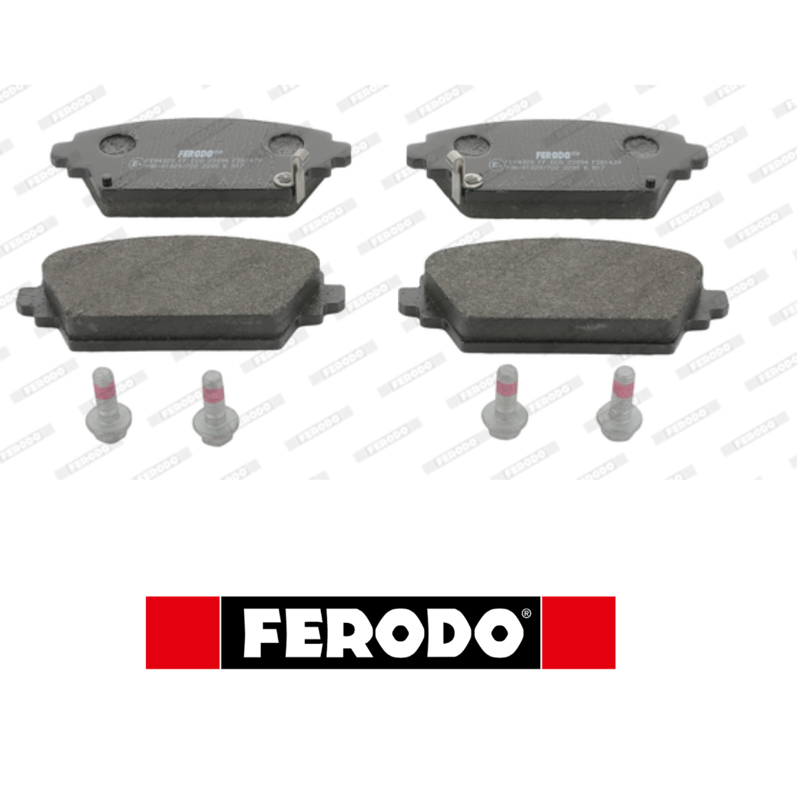 FRONT BRAKE PADS SERIES KIT HONDA FERODO FDB1439