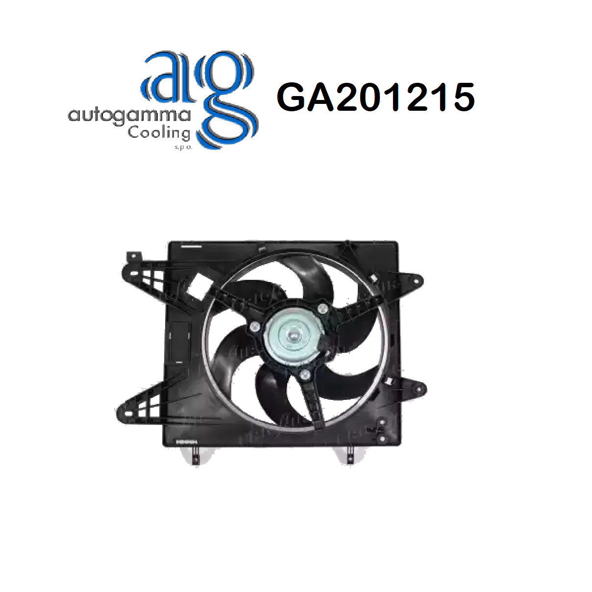 FIAT BRAVA - BRAVO ENGINE COOLING FAN - BRAVO - TIDE AUTOGAMMA FOR 46430980