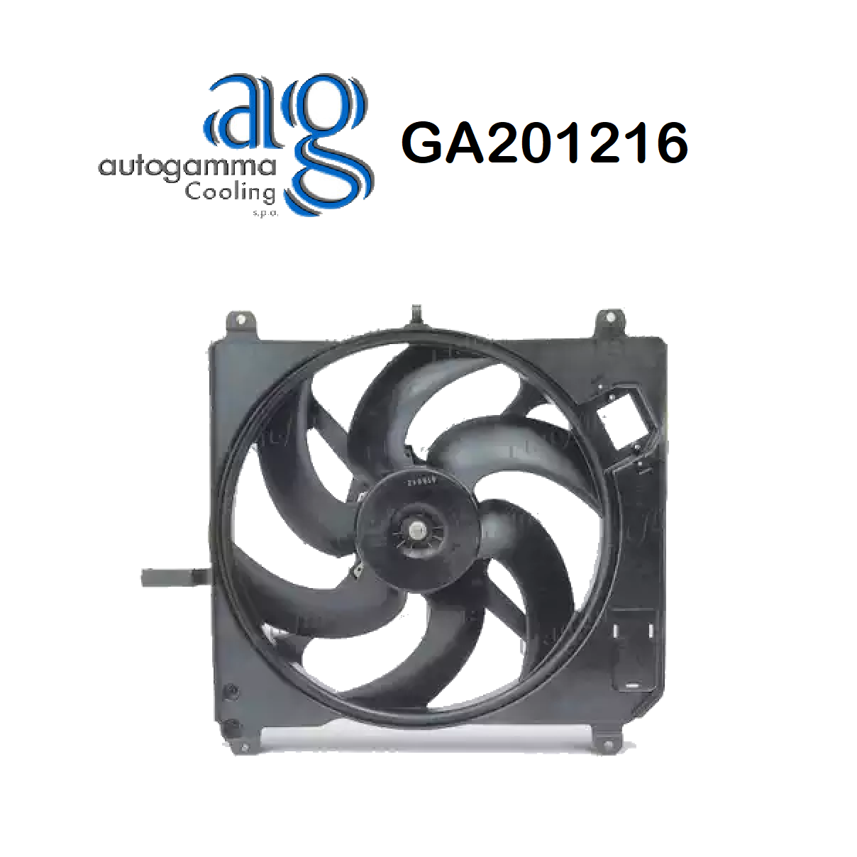 FIAT BRAVA - BRAVO ENGINE COOLING FAN - BRAVO - TIDE AUTOGAMMA FOR 46465005