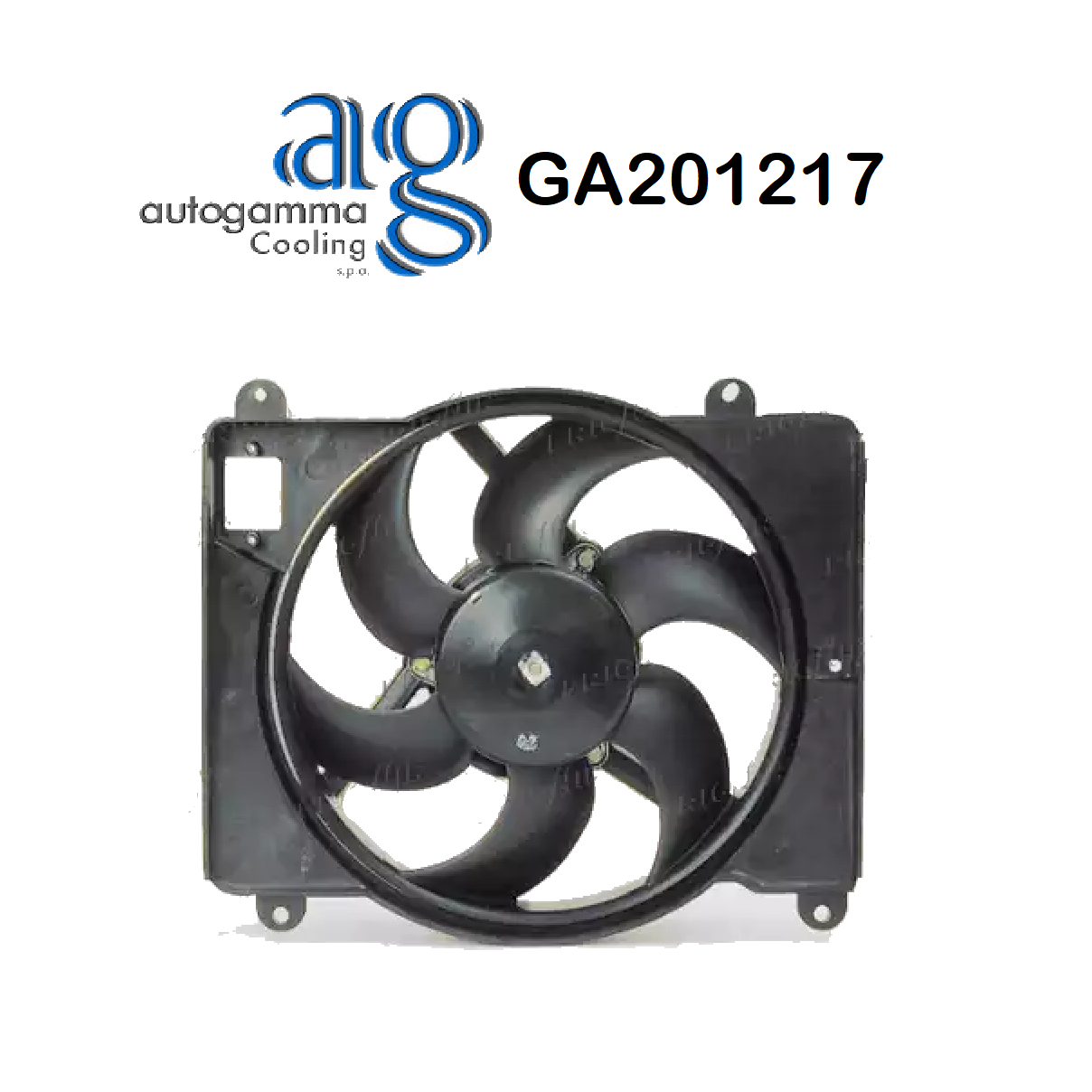 FIAT PUNTO ENGINE COOLING FAN - LANCIA Y AUTOGAMMA FOR 46406189