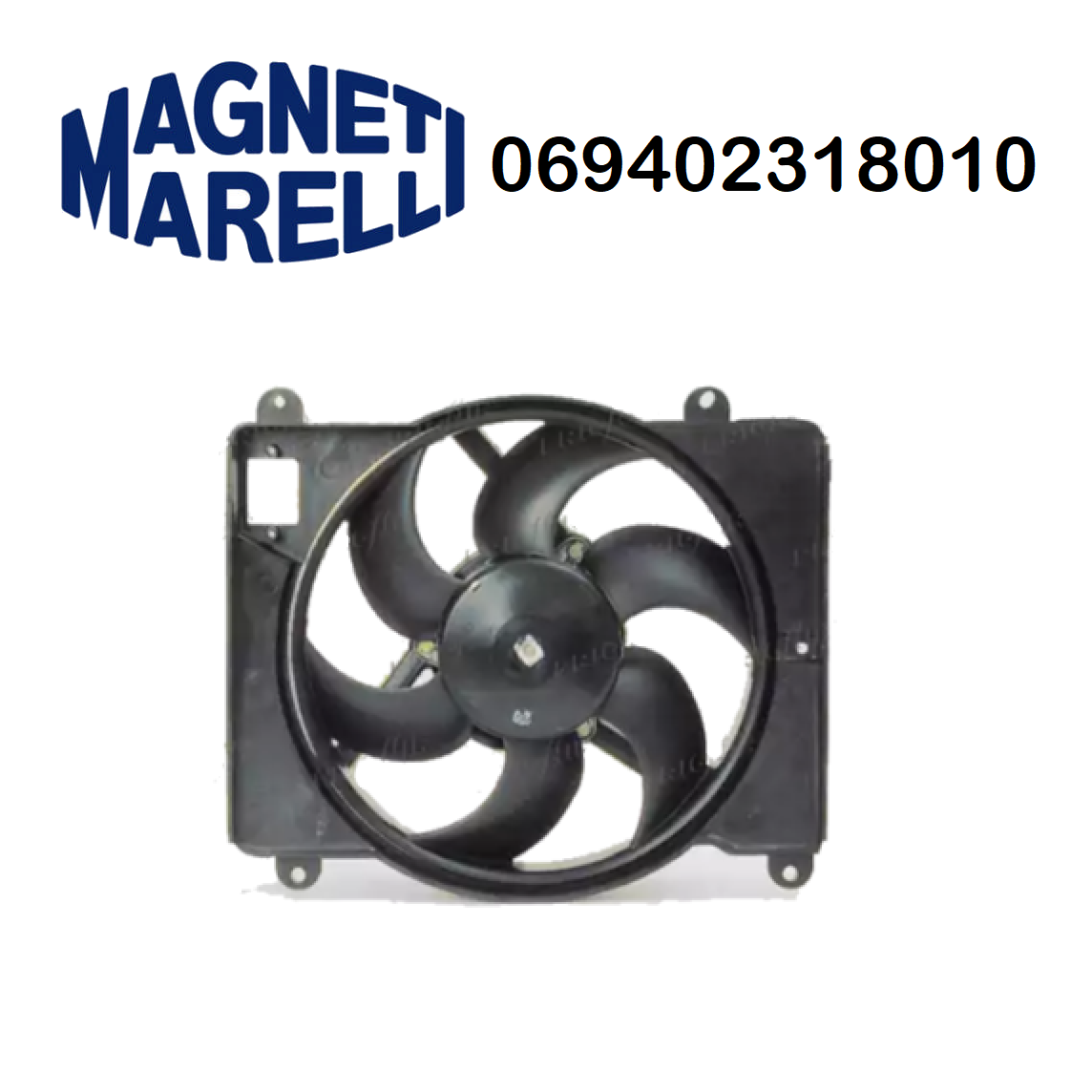 FIAT PUNTO ENGINE COOLING FAN - LANCIA Y MARELLI FOR 46406189