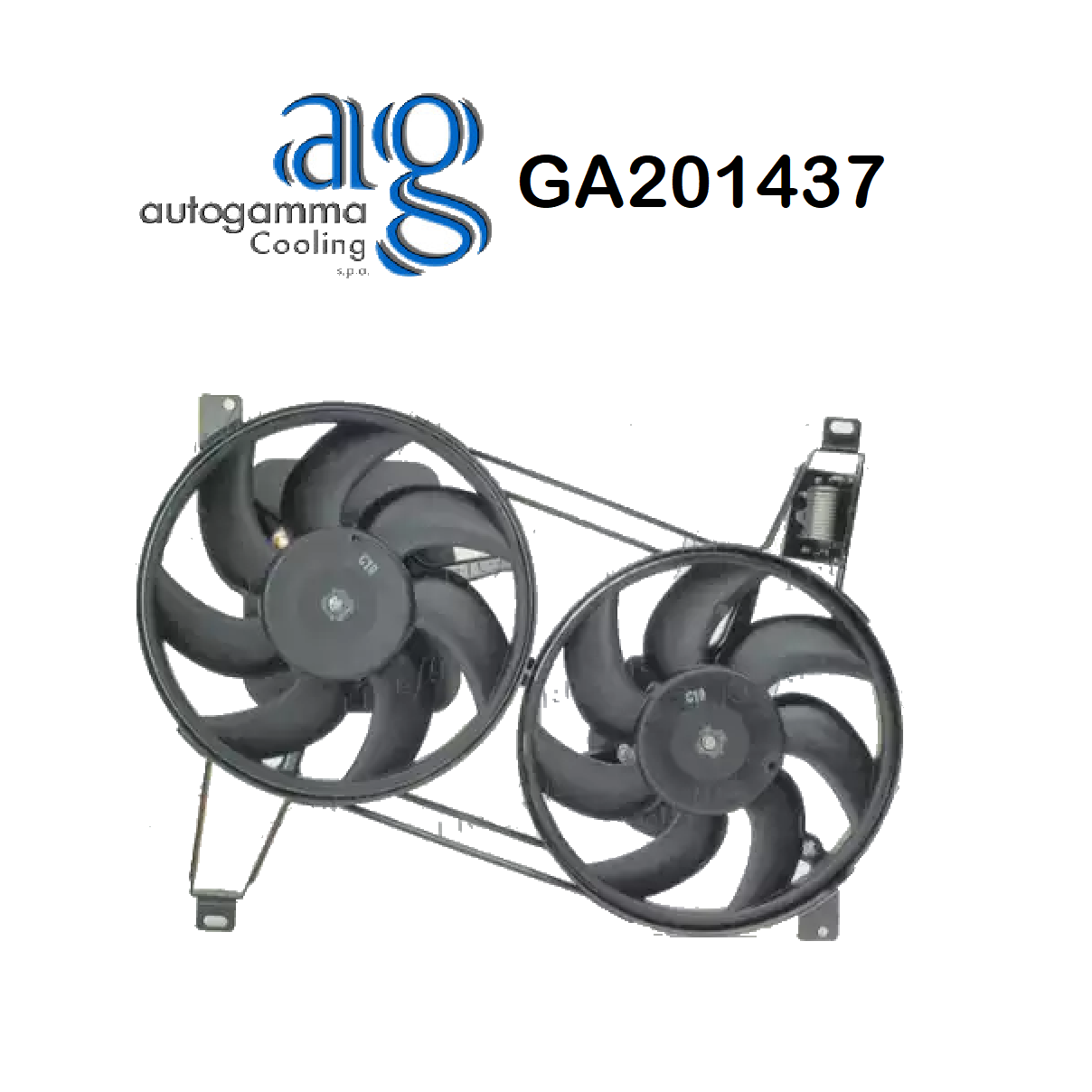 FIAT COUPE 'ENGINE COOLING FAN - LANCIA DEDRA AUTOGAMMA FOR 7698896