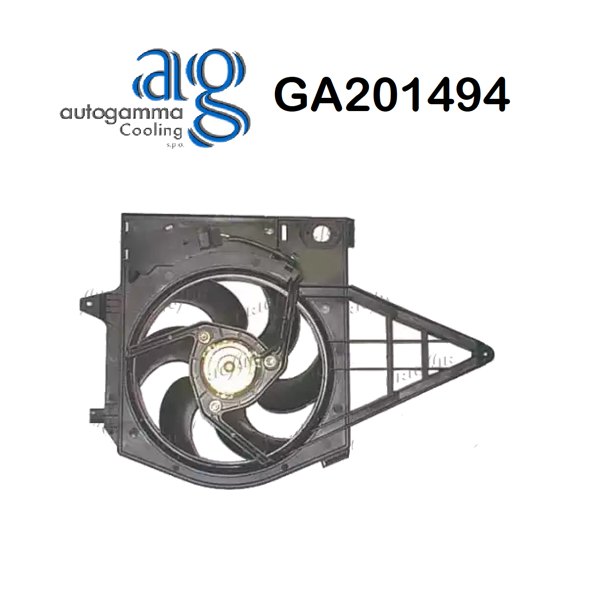 FIAT ULYSSE ENGINE COOLING FAN - PEUGEOT 806 AUTOGAMMA FOR 125345
