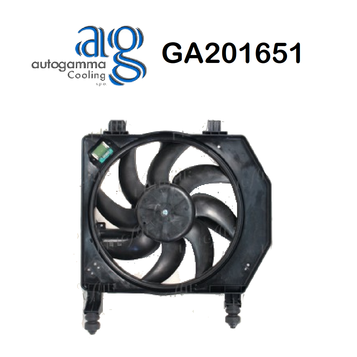 FORD FIESTA ENGINE COOLING FAN - PUMA AUTOGAMMA FOR 1017785