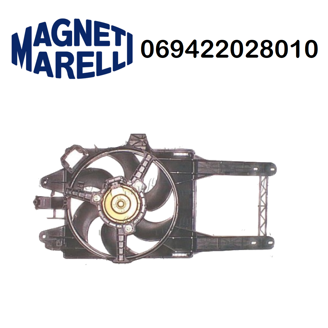 COOLING FAN ENGINE LANCIA Y 1.2 MAGNETI MARELLI FOR 46763323